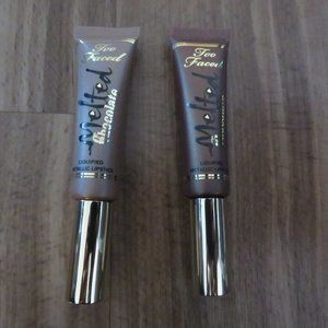 Too Faced Melted Chocolate Metallic Lipsticks
